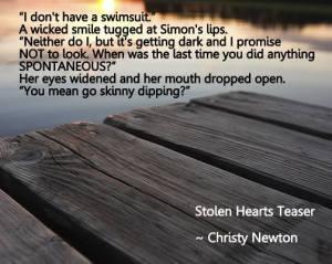 Stolen Hearts Teaser Pic Pond